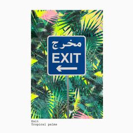Exit + Tropical palm
