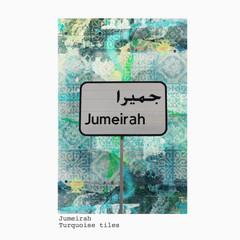 Jumeirah + blue tiles