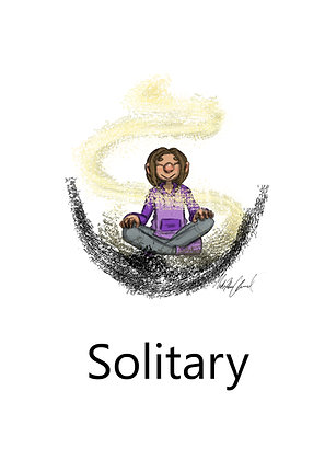 Solitary Learning - Canvas