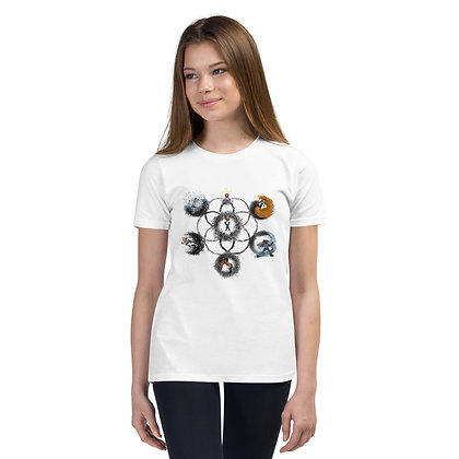 The Seven Learning Styles In Harmony - Youth Short Sleeve T-Shirt