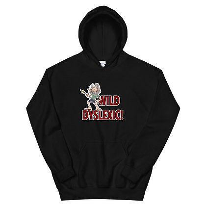Wild Dyslexic - Unisex Hoodie