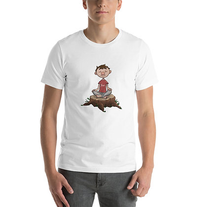 Meditate - Short-Sleeve Unisex T-Shirt