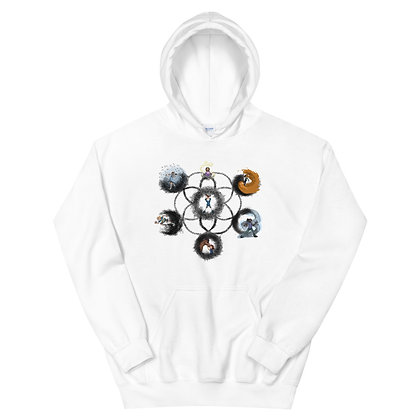 The Seven Learning Styles_transparent_Unisex Hoodie