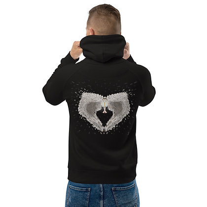 Back print - Key to Knowledge - Unisex pullover hoodie