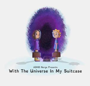 Med universet i kofforten poster