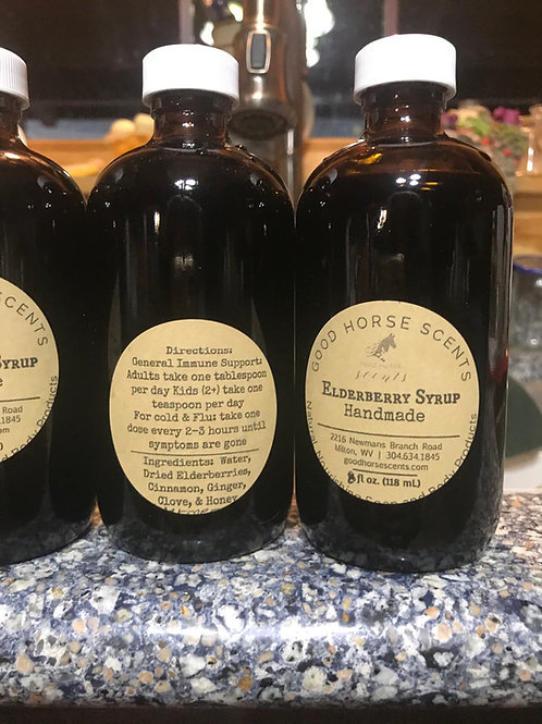 Handcrafted Elderberry Syrup