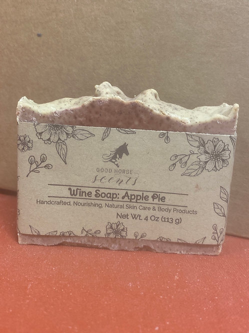 Wine Soap:  Apple Pie