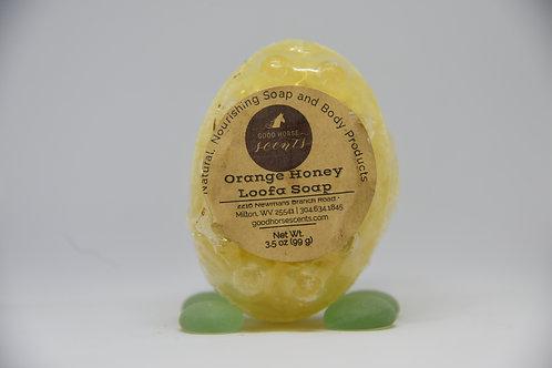 Honey Orange with Loofa