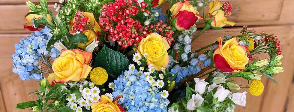 Bouquet in a Bucket