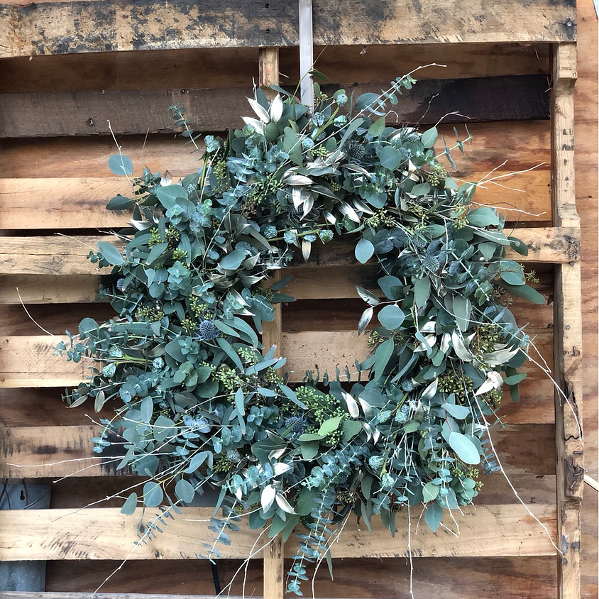 Holiday Wreath-Making Workshop with Mixed Eucalyptus