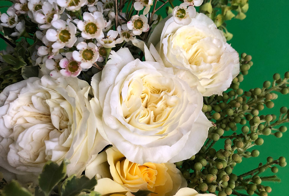 Monthly Fresh Flower Bouquet Subscription