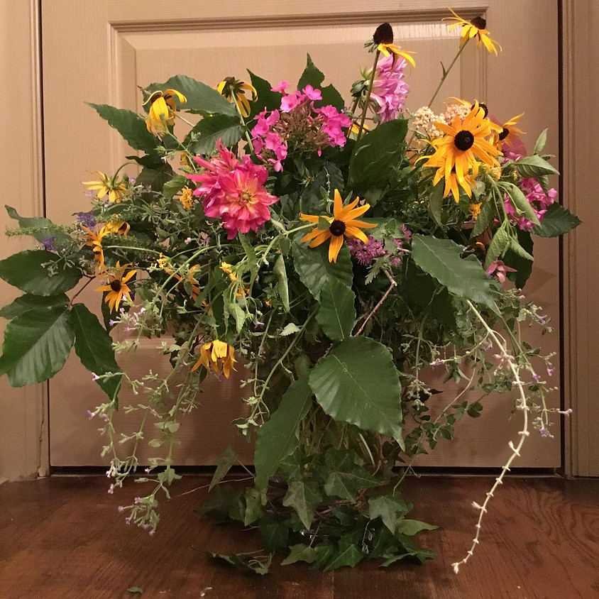 Flower Arranging with Color