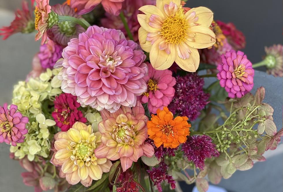 Fresh Flowers arranged in a Vase