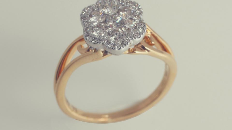 Diamond Nakshatra Ring