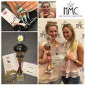 "06/2018  1. Platz - Julia Börnicke  Almond Shape  Master Class  ""NMC Nail Masters Competition"" 2018, Bad Salzuflen"