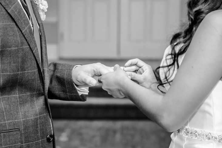 Ring Exchange Wedding Photography New Forest and Southampton