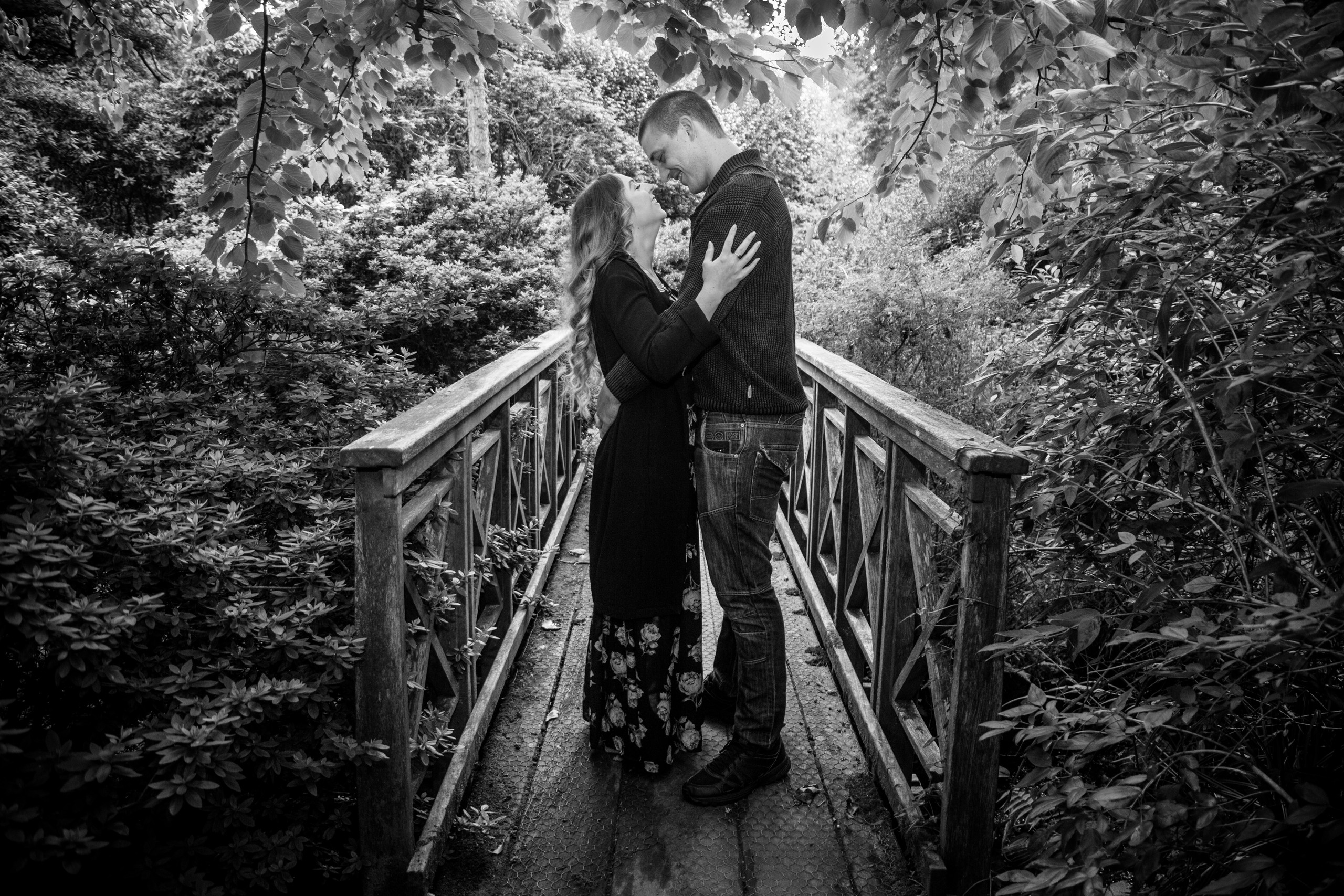 Pre Wedding Photography at Clyne Gardens Swansea
