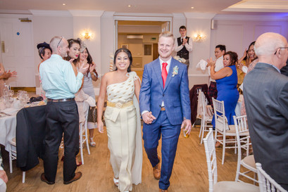 Reception at the Beaulieu Hotel at the Drift New Forest