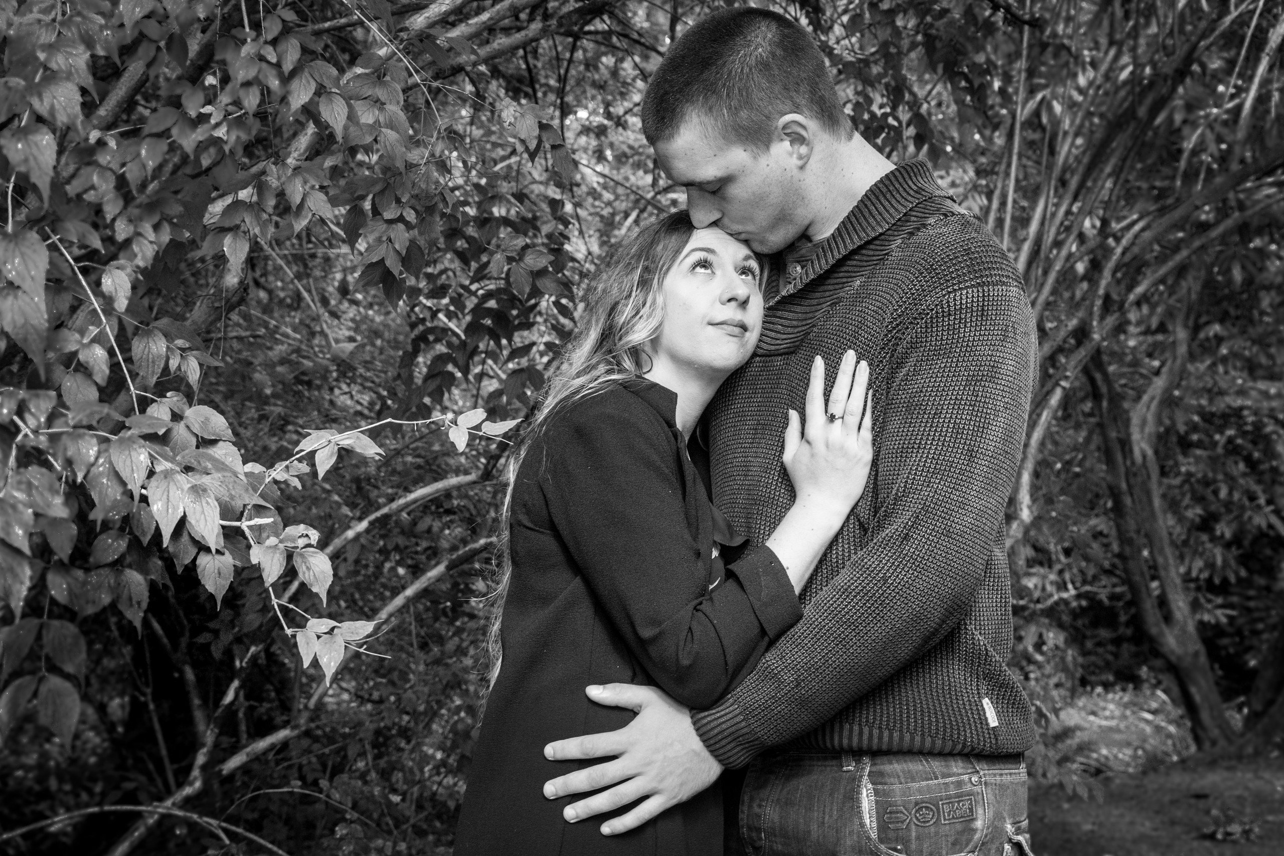 Couple Portraits at Clyne Gardens Swansea