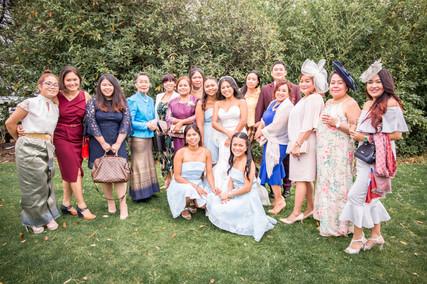 Bridal Party Wedding Photography at Beaulieu Hotel