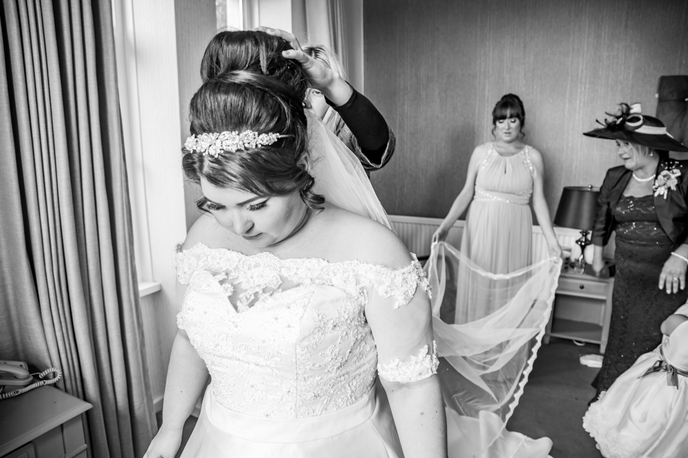 Bride Photography Gaze Moment Natural Wedding Photography in Swansea, Carmarthen and The Gower
