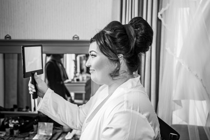 Wedding Photography Swansea, The Gower and Carmarthenshire of Bridal Preparations and makeup by Farhana Ali
