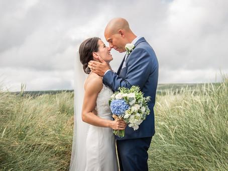 Oxwich Bay Hotel Wedding Photography  / Luke & Mathilde