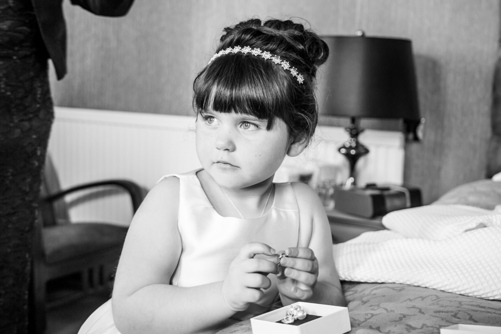 Daughter of Bride Photography Moment Natural Wedding Photography in Swansea, Carmarthen and The Gower