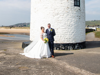 Lighthouse Bride and Groom Session
