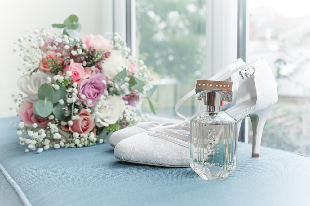Swansea Wedding Photography The Gower Bridgend South Wales Cardiff Llanelli and Carmarthenshire Photographer Wedding Shoes and Flowers