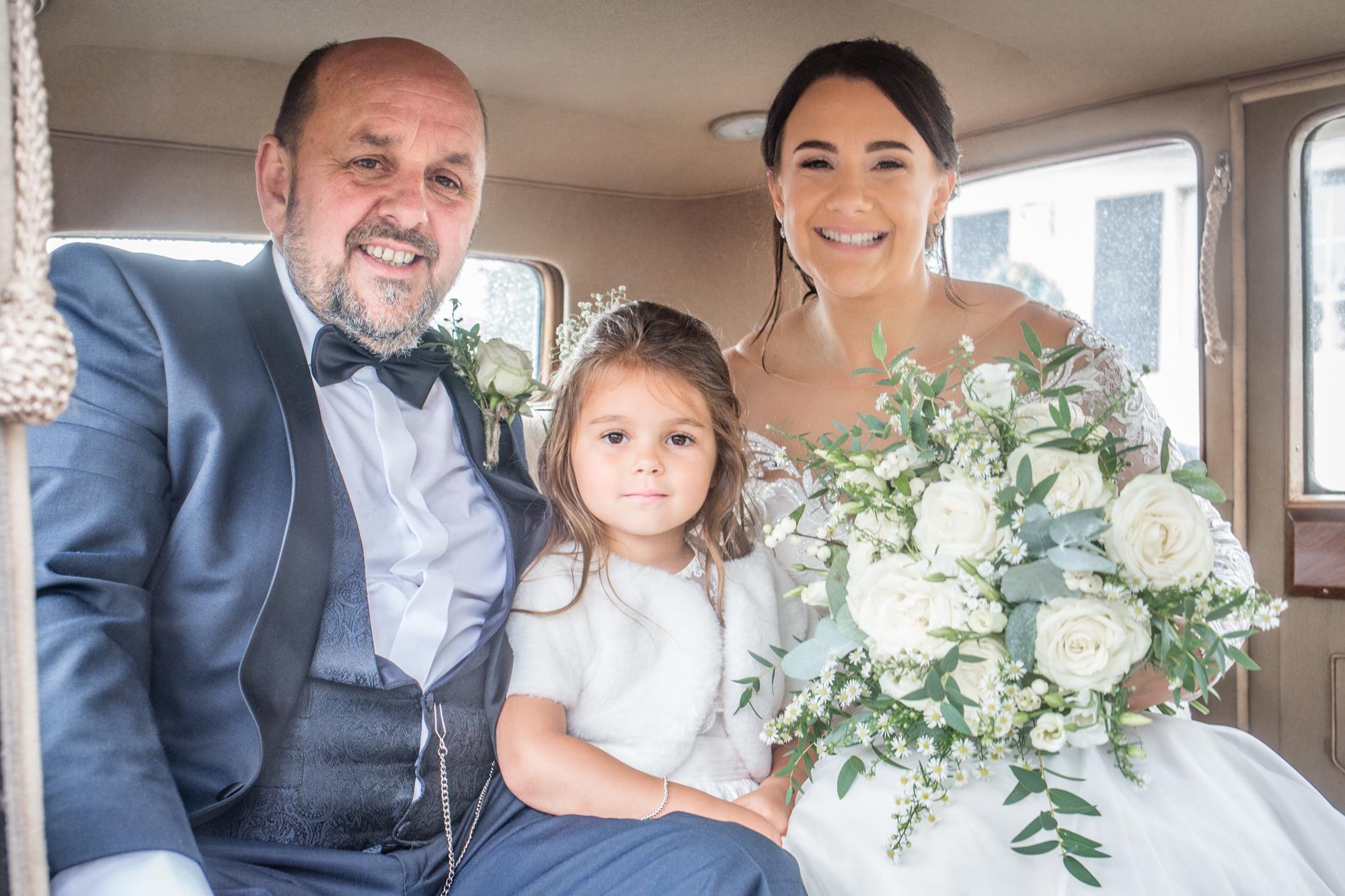 Wedding Car and Church Photography in Llanelli