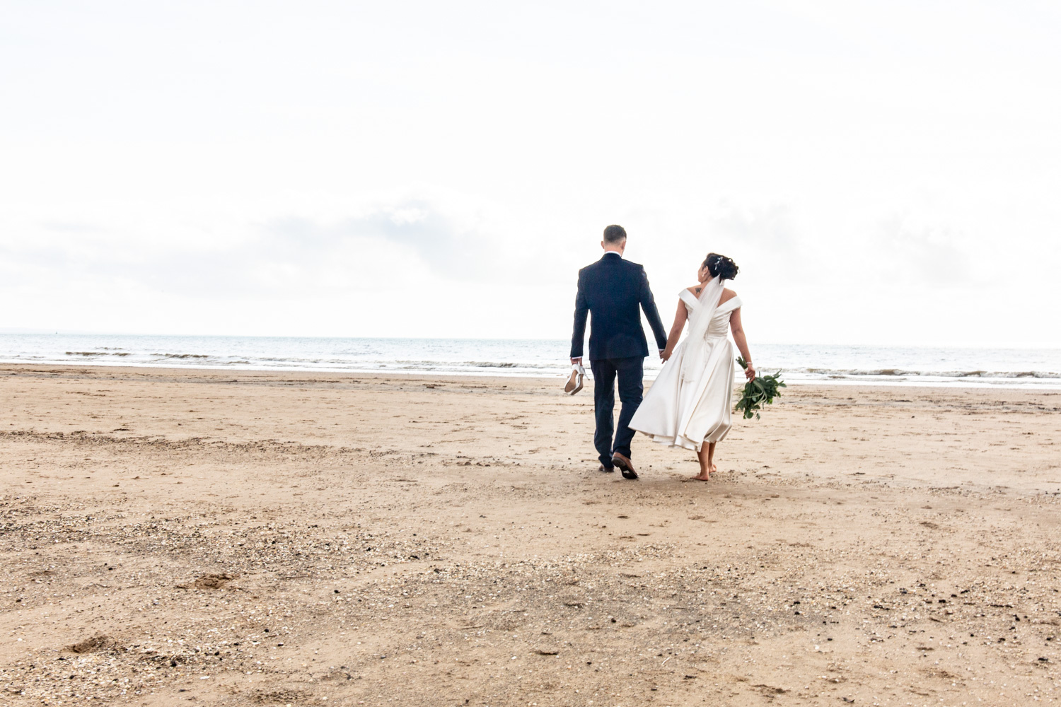 relaxed wedding photographer in swansea