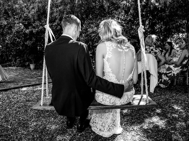 Classic Black and White Swing Photograhy