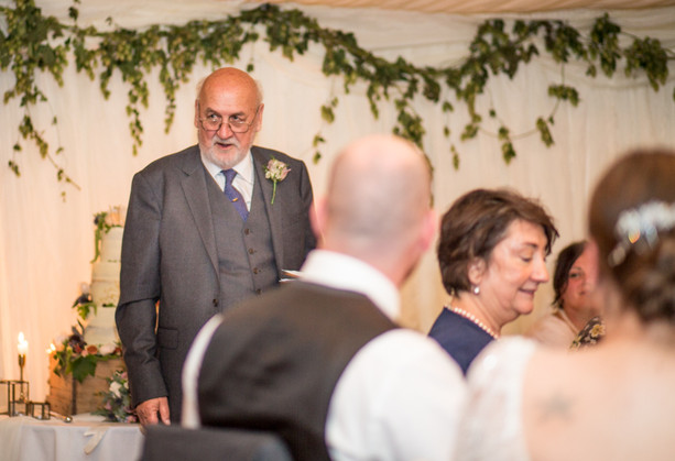 Father of the bride wedding photography in Swansea and the Gower