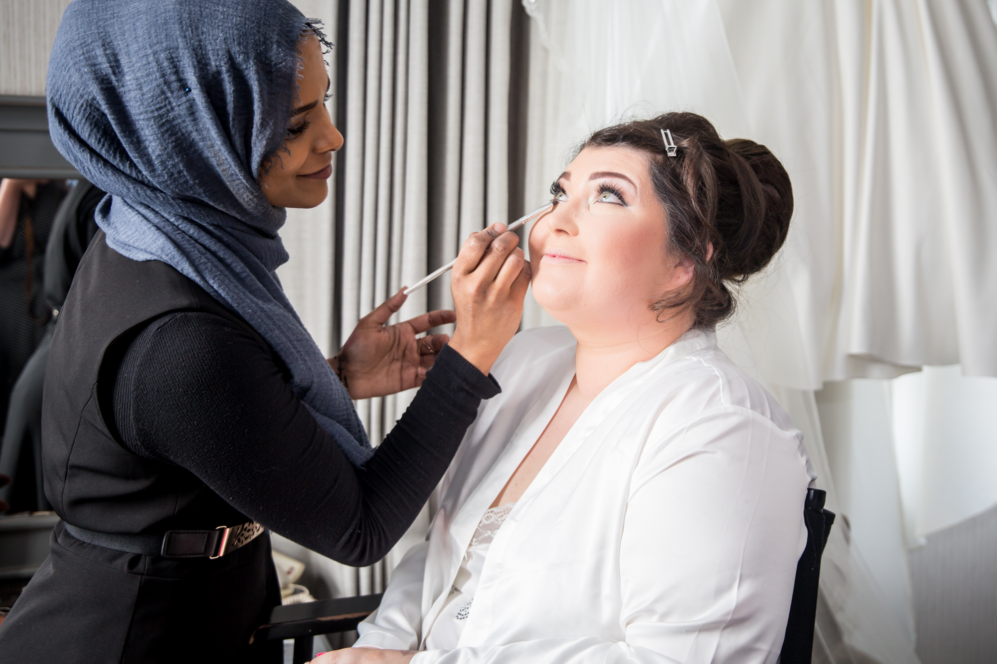 Swansea Wedding Photography Bridal Hair and Makeup covering The Gower, Carmarthenshire, Llanelli and South Wales Farhana Ali