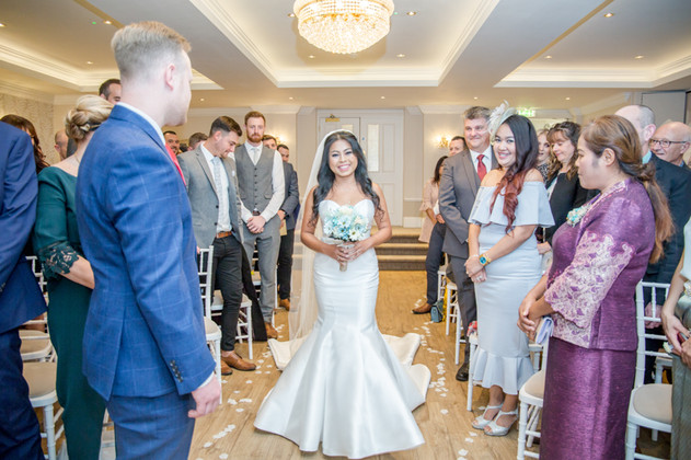 Best Bride Entrance Wedding Photography 2020 New Forest and Hampshire