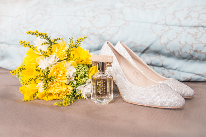 Detailed Wedding Shoe Photography in Swansea, The Gower, Carmarthenshire and South Wales