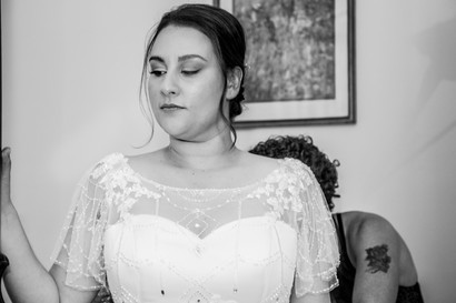 Wedding dress in Swansea and South wales photography