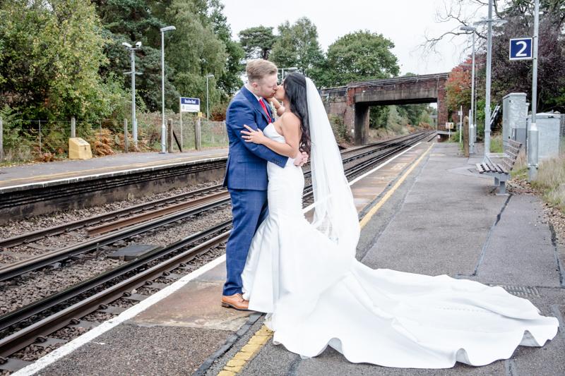 New Forest Railway Wedding Photography