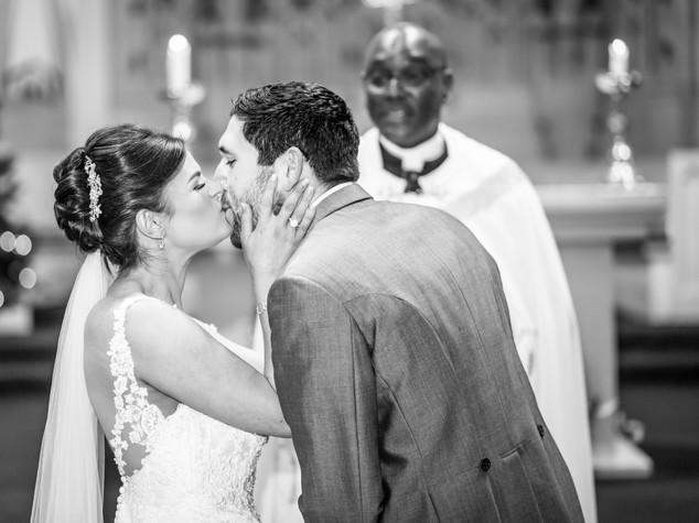 Church First Kiss