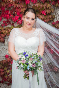 Wedding dress and flowers in Swansea and Llanelli
