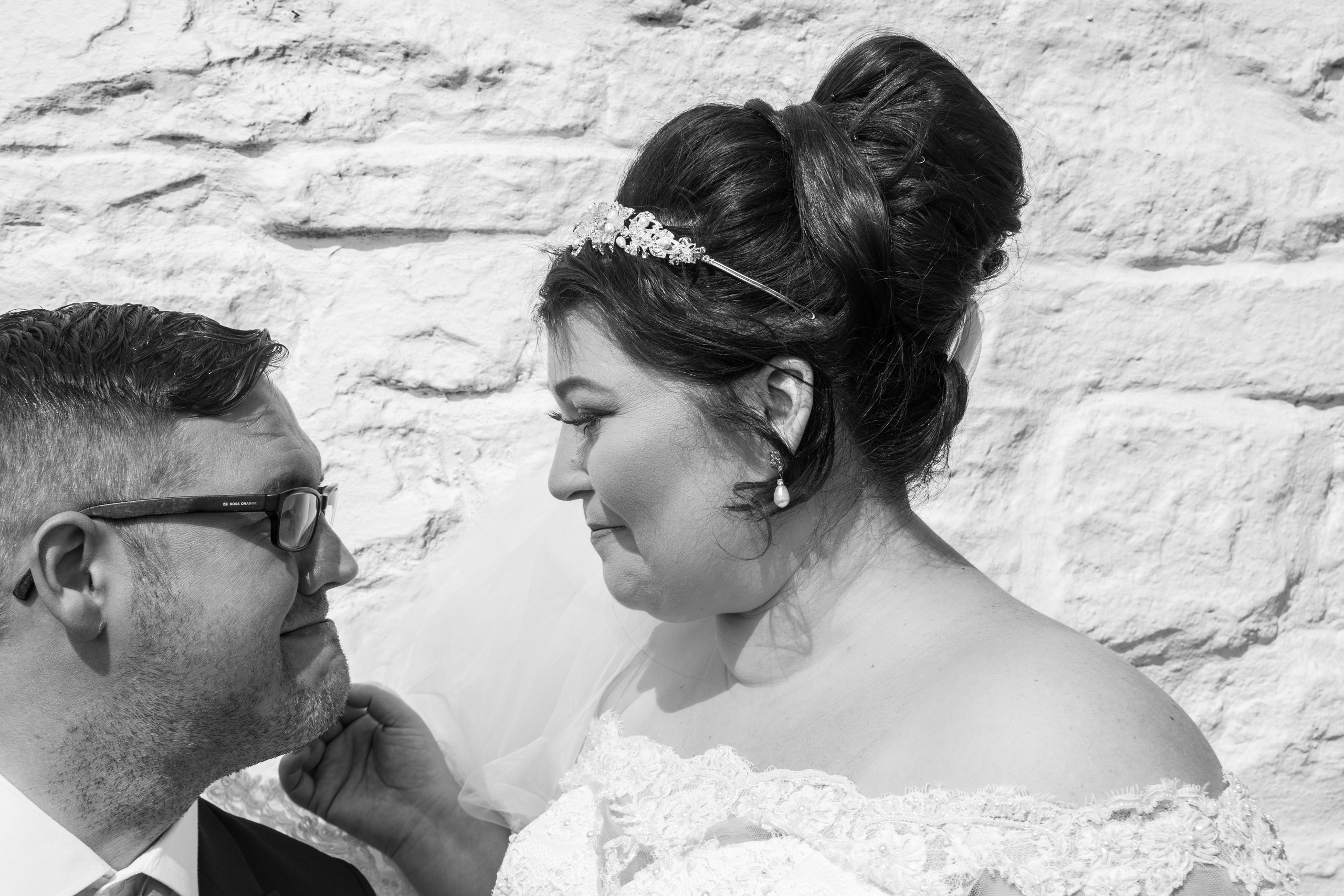 Burry Port Close Up Wedding Photography with the Gower and Swansea Beach