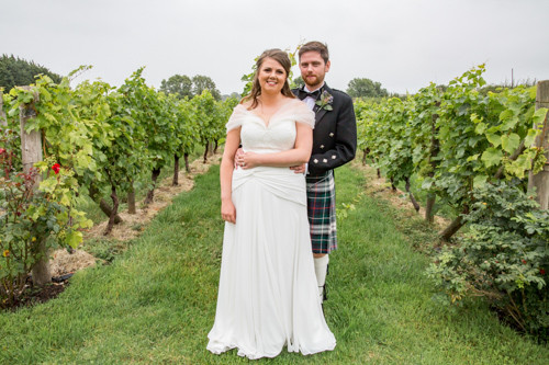 Emma and Jason's Wedding at Glyndwr Vineyard