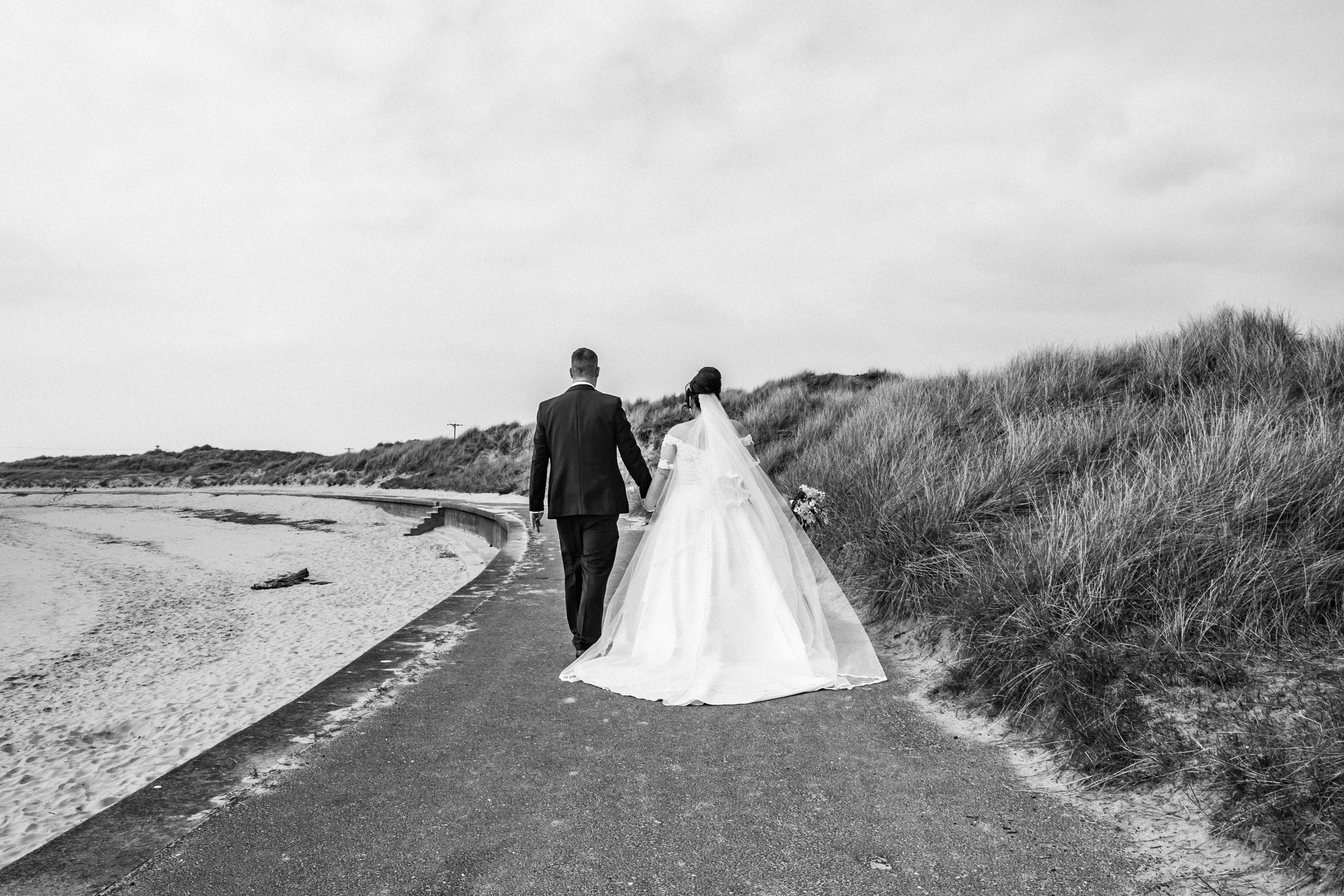 Burry Port Wedding Photography with the Gower and Swansea Beach
