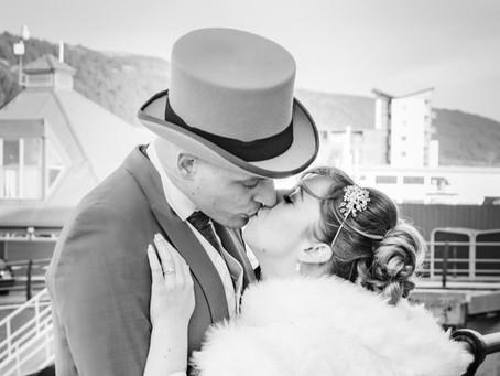Natalie and Simon / Wedding Photography / Swansea Civic Centre