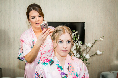 Wedding Photography Swansea, The Gower and Carmarthenshire of bridesmaids photography