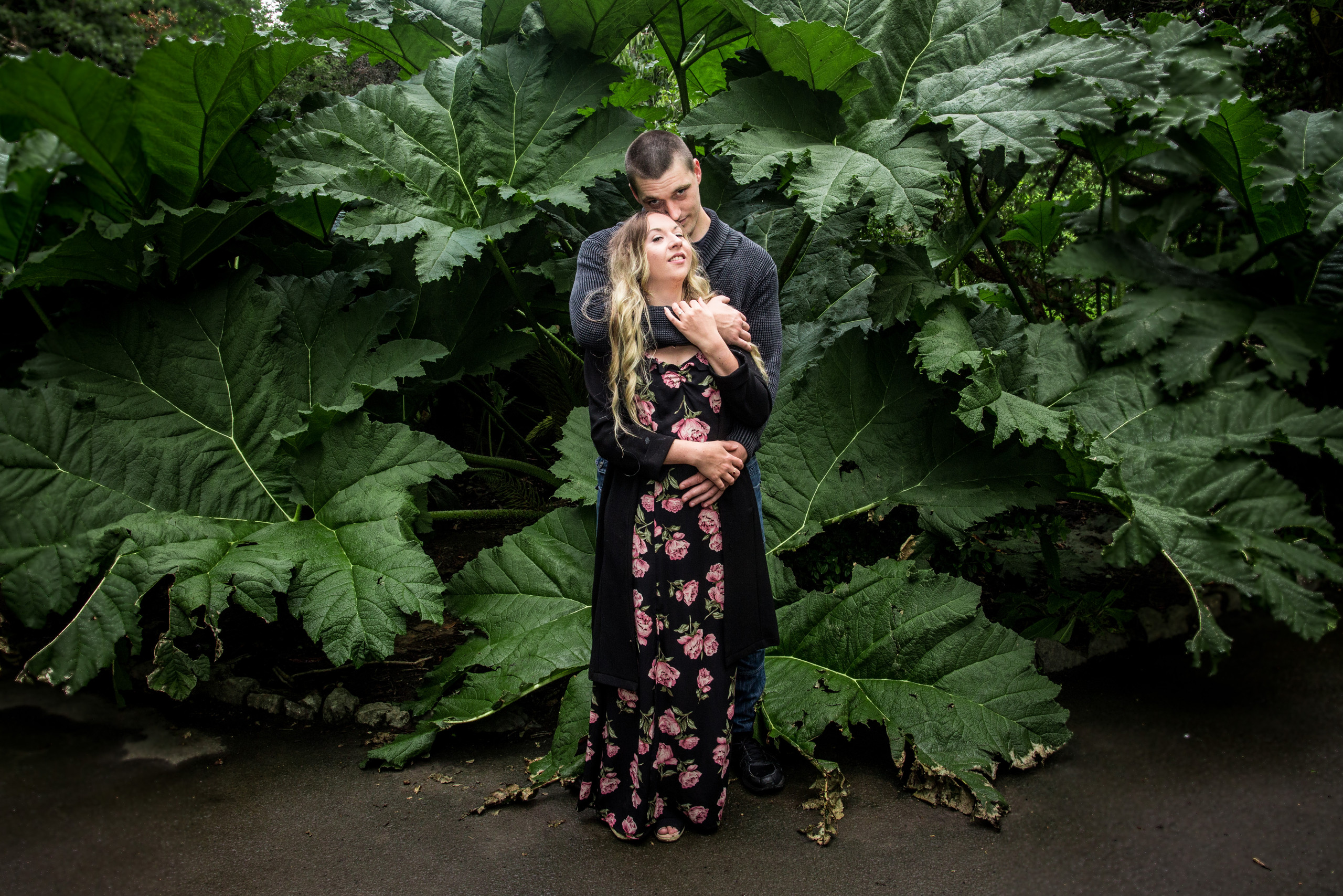 Engagement Photography at Clyne Gardens Swansea