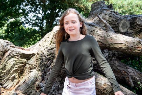 Natural Family Woodland Photography Sesison