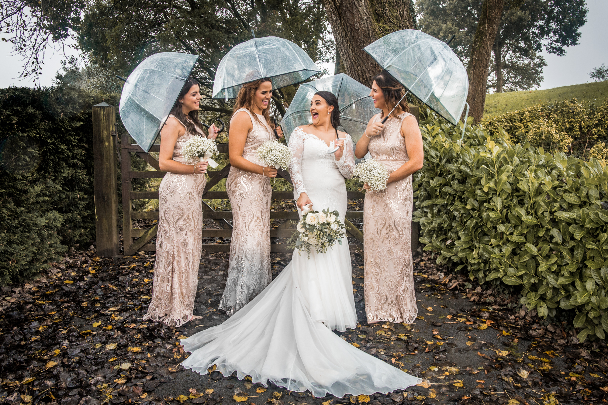 South Wales and Swansea Group Wedding Photography