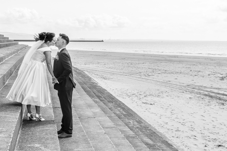 swansea bay civic centre wedding photograph